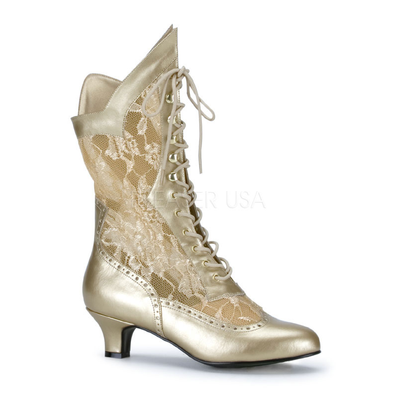 Luxury Womenu0026#39;s Victorian Boots Shoes Slippers