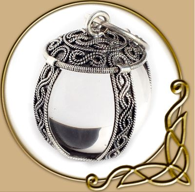 Crystal ball pendant thevikingstore crystal ball pendant mozeypictures Choice Image