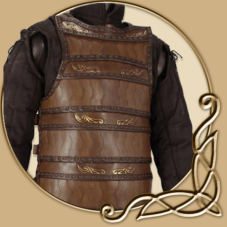 Leather Armour Celtic Lamellar Thevikingstore Co Uk