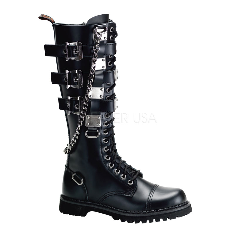 mens metal plate and chain boots thevikingstore co uk