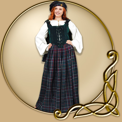 Costume Highland Dress Thevikingstore Co Uk