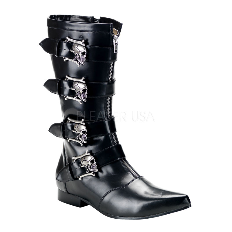 Costume Mens Skull Boots Thevikingstore Co Uk