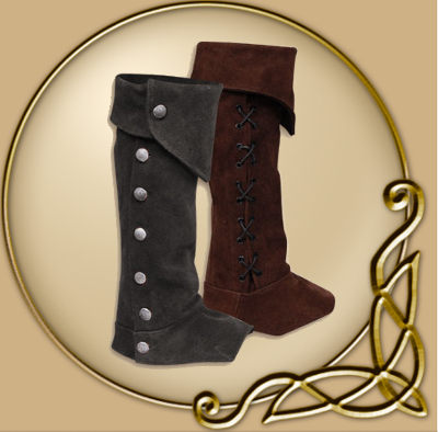 Gabriel Suede Leather Boot Gaiters Thevikingstore Co Uk